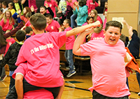 Dillon Way kickoff focuses on respect, teamwork