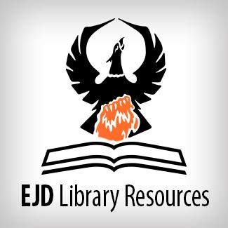 EJD library resources logo